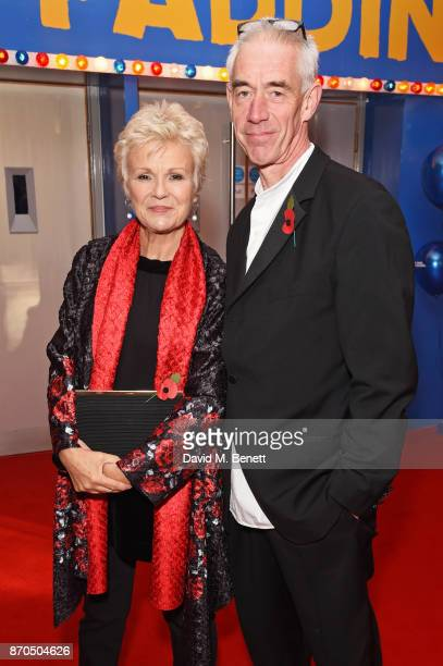 "Julie Walters and husband Grant Roffey attend the World Premiere of ""Paddington 2"" at Odeon Leicester Square on November 5, 2017 in London, England."