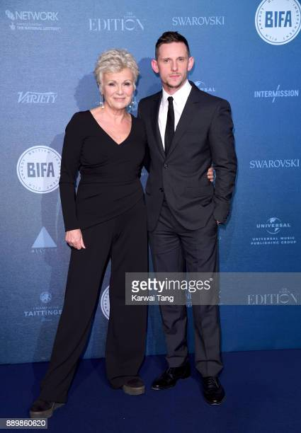 Julie Walters and Jamie Bell attend the British Independent Film Awards held at Old Billingsgate on December 10 2017 in London England
