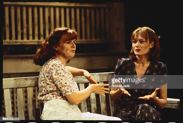 Julie Walters as Kate Keller and Catherine McCormack as Ann Deever in Arthur Miller's play All My Sons