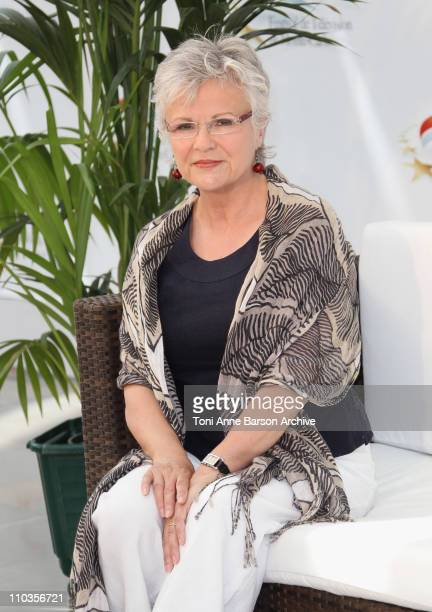 Julie Walters attends photocall at Grimaldi Forum on June 10, 2010 in Monte-Carlo, Monaco.