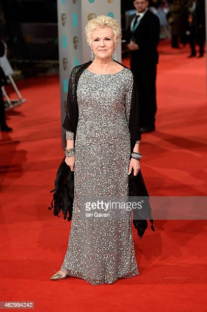 Julie Walters attends the EE British Academy Film Awards at The Royal Opera House on February 8 2015 in London England