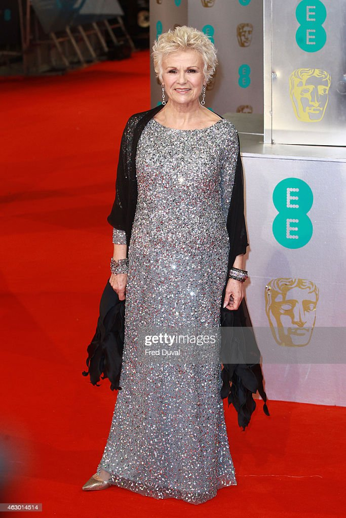 Julie Walters attends the EE British Academy Film awards at The Royal Opera House on February 8, 2015 in London, England.