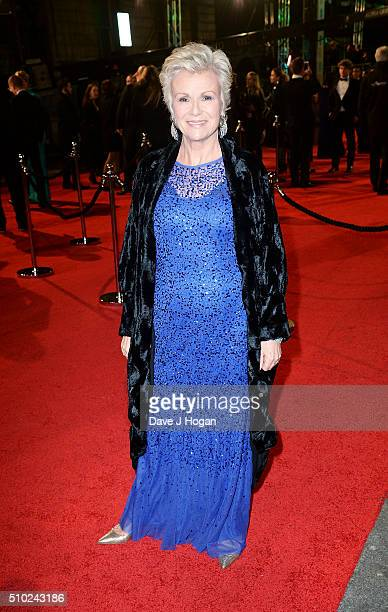 Julie Walters attends the EE British Academy Film Awards at The Royal Opera House on February 14, 2016 in London, England.