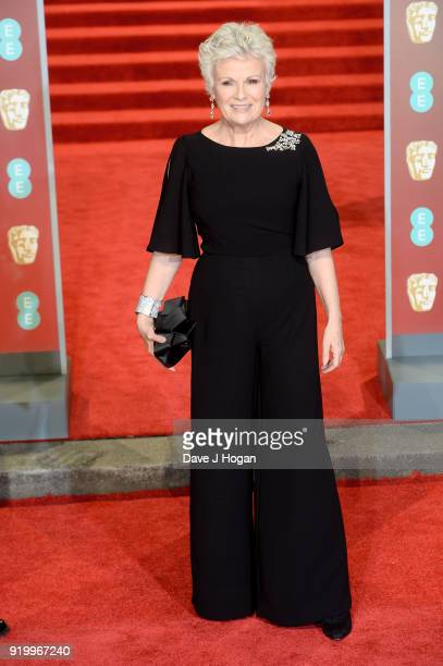 Julie Walters attends the EE British Academy Film Awards held at Royal Albert Hall on February 18, 2018 in London, England.