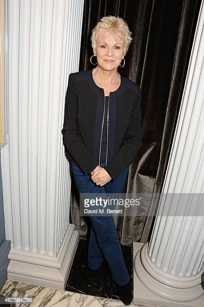 """Julie Walters attends the launch of Channel 4's new period drama """"Indian Summers"""" at The Arts Club on January 27, 2015 in London, England."""