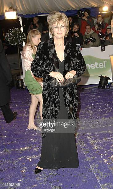 Julie Walters during British Comedy Awards 2005 Arrivals at London Television Studios in London Great Britain