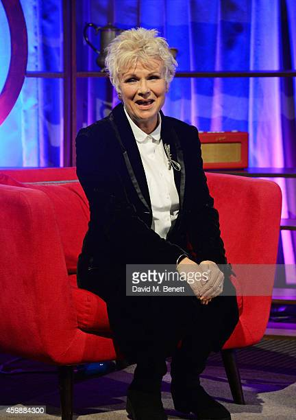 Julie Walters poses at her BAFTA A Life In Television QA at BAFTA on December 3 2014 in London England