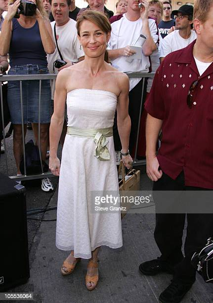Julie Warner during Chris Farley Honored Posthumously With a Star on the Hollywood Walk of Fame in Hollywood California United States