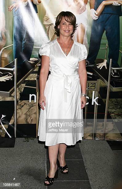 Julie Warner during Season Four Premiere Screening Of Nip/Tuck Arrivals at Paramount Studios in Hollywood California United States