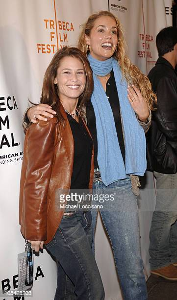 Julie Warner Producer and Elizabeth Berkley during 4th Annual Tribeca Film Festival Special Thanks To Roy London World Premiere at Regal Battery Park...
