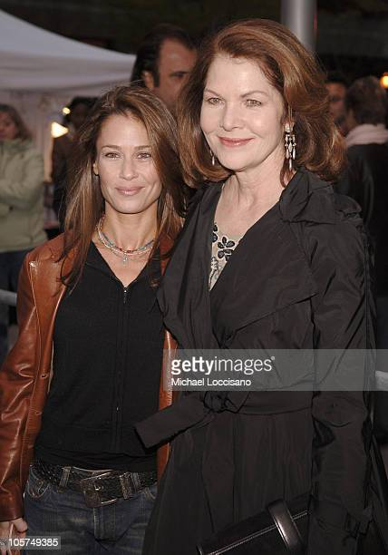 Julie Warner producer and Lois Chiles during 4th Annual Tribeca Film Festival Special Thanks To Roy London World Premiere at Regal Battery Park in...