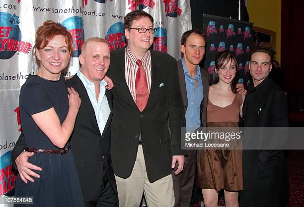 Julie White Scott Ellis Play Director Douglas Carter Beane Playwright Neal Huff Zoe ListerJones and Johnny Galecki
