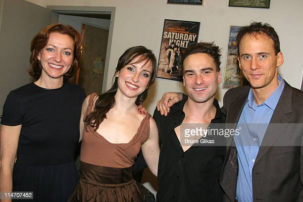 Julie White Zoe ListerJones Johnny Galecki and Neal Huff **EXCLUSIVE COVERAGE**