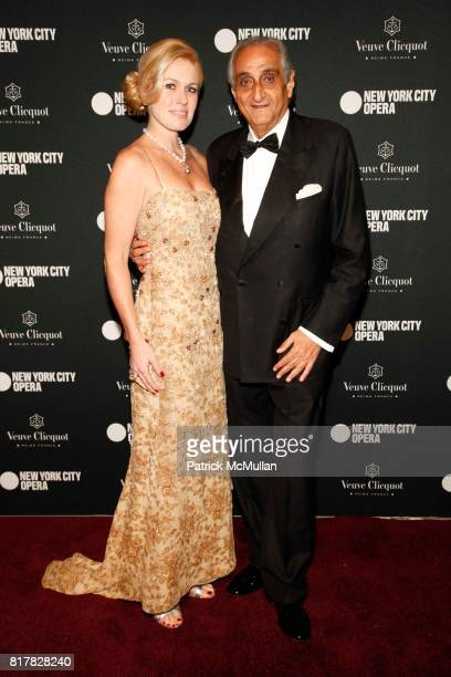 Julie Wilson and Hormoz Sabet attend New York City Opera's Fall Gala 2010 at Lincoln Center on October 28th 2010 in New York City