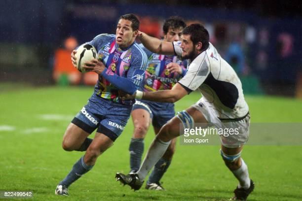 Julien ARIAS Stade Francais / Castres 11 eme journee du Top 14