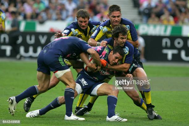 Julien ARIAS / Brock JAMES Stade Francais / Clermont Auvergne Finale Top 14 Photo Dave Winter / Icon Sport