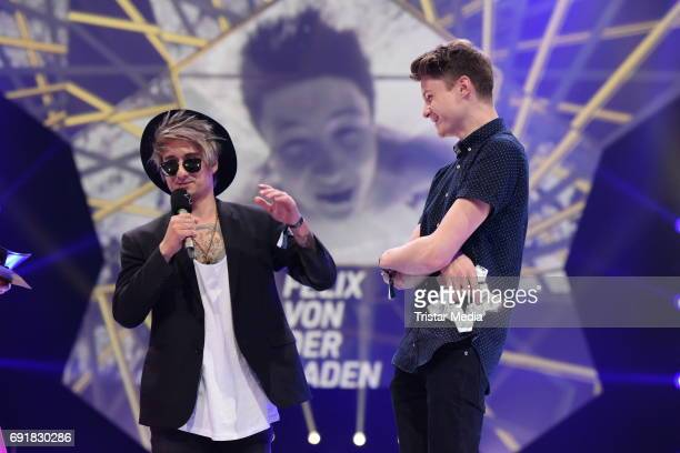 Julien Bam, Dner during the Deutscher Webvideopreis 2017 at ISS Dome on June 1, 2017 in Duesseldorf, Germany.
