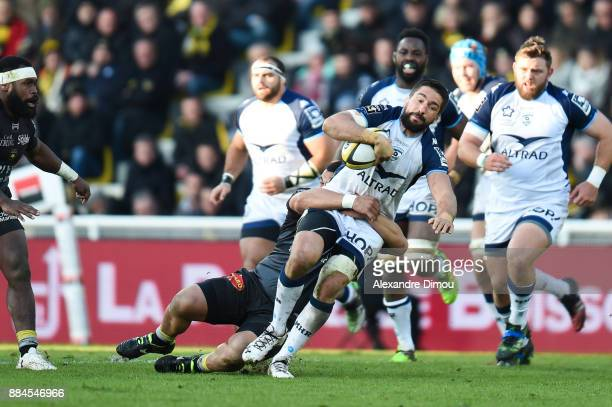 Julien Bardy of Montpellier during the Top 14 match between La Rochelle and Montpellier on December 2 2017 in La Rochelle France