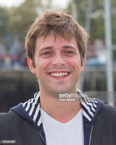 Julien Baumgartner poses during the 'Un petit bout de France' Photocall at La Rochelle Fiction Television Festival on September 15 2012 in La...