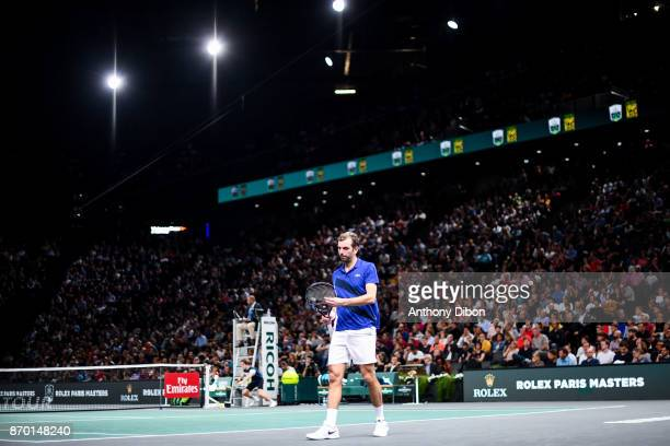Julien Benneteau during the Day 6 of the Rolex Paris Masters at AccorHotels Arena on November 4 2017 in Paris France