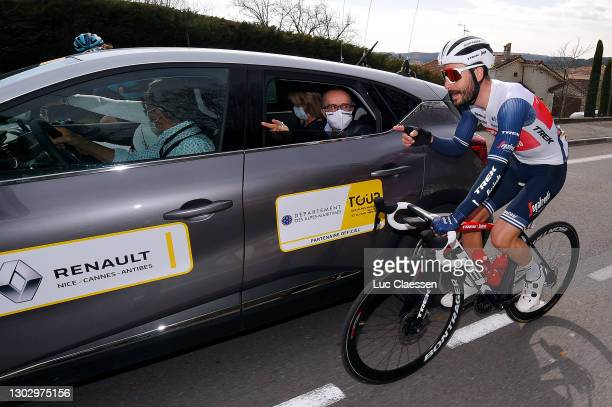 Julien Bernard of France and Team Trek - Segafredo during the 53rd Tour Des Alpes Maritimes Et Du Var, Stage 1 a 186,8km stage from Biot to Gourdon...