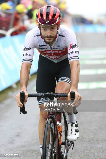 Julien Bernard of France and Trek-Segafredo crosses the finish line during stage 15 of the 106th Tour de France 2019, a stage from Limoux to Foix -...