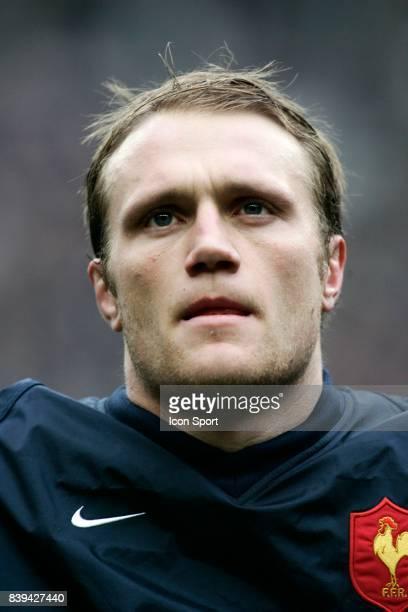 Julien BONNAIRE France / Pays de Galles Tournoi des 6 Nations 2005 Rugby