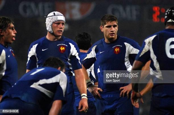 Julien BONNAIRE / Pascal PAPE France / Nouvelle Zelande test match Lyon
