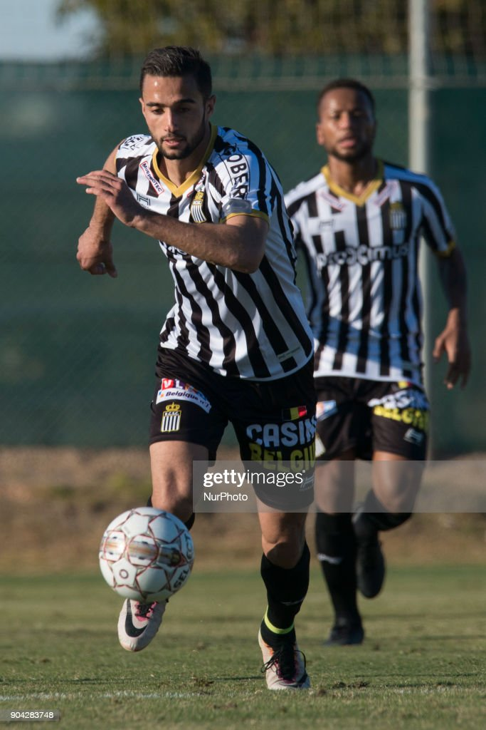 Julien Celestine during the friendly match between Royal Charleroi SC vs.Yanbian Funde FC at Pinatar Arena, Murcia, SPAIN. 10th January of 2018.
