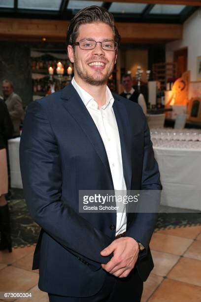 "Julien Christopher Fuchsberger, grandson of Joachim ""Blacky"" Fuchsberger and son of Thomas Fuchsbergerduring the piano night hosted by Wempe and..."