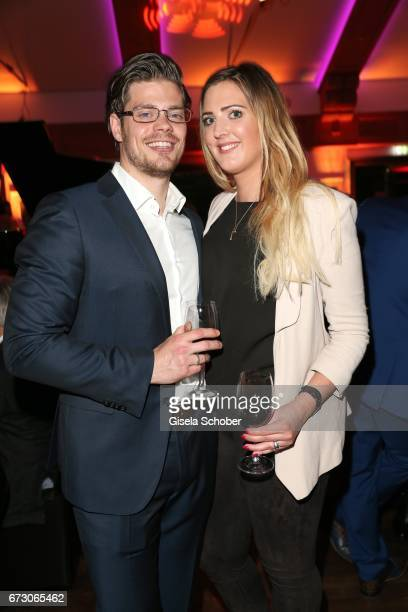 Julien Christopher Fuchsberger grandson of Joachim Blacky Fuchsberger and son of Thomas Fuchsberger and his girlfriend Nathalie Weber during the...