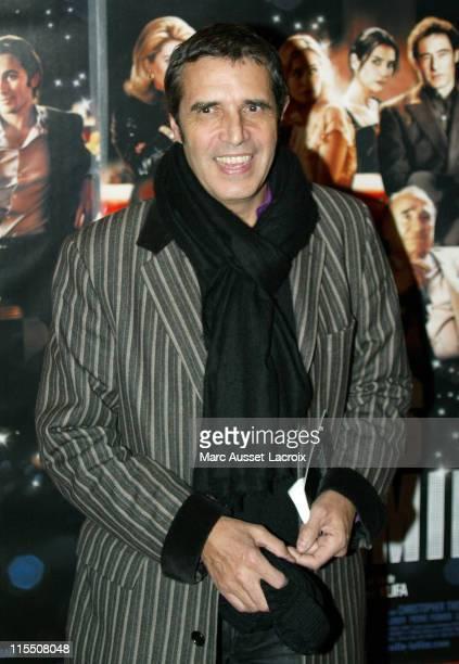 Julien Clerc during 'Le Heros de la Famille' Paris Premiere at UGC Normandie in Paris France