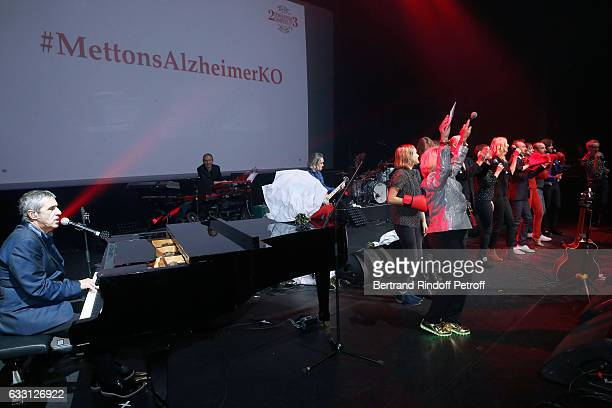 Julien Clerc Member of the Honor Committee of the Association for Research on Alzheimer's Veronique de Villele Alain Souchon President of the...