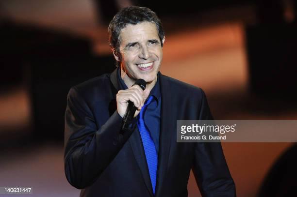 Julien Clerc performs during 'Les Victoires de La Musique 2012' at Palais des Congres on March 3 2012 in Paris France