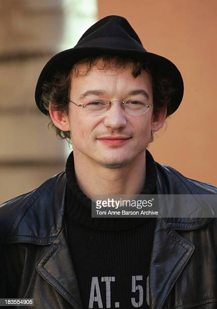 Julien Courbey attends 'Les Barsons' photocall at the Mansour Hotel on December 8 2009 in Marrakech Morocco