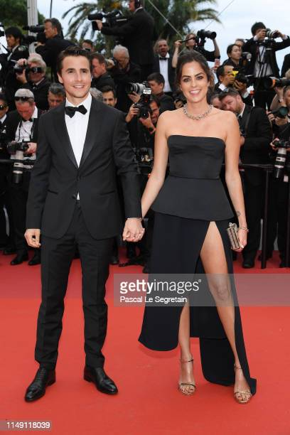Julien Dereins and Anouchka Delon attends the opening ceremony and screening of The Dead Don't Die during the 72nd annual Cannes Film Festival on May...