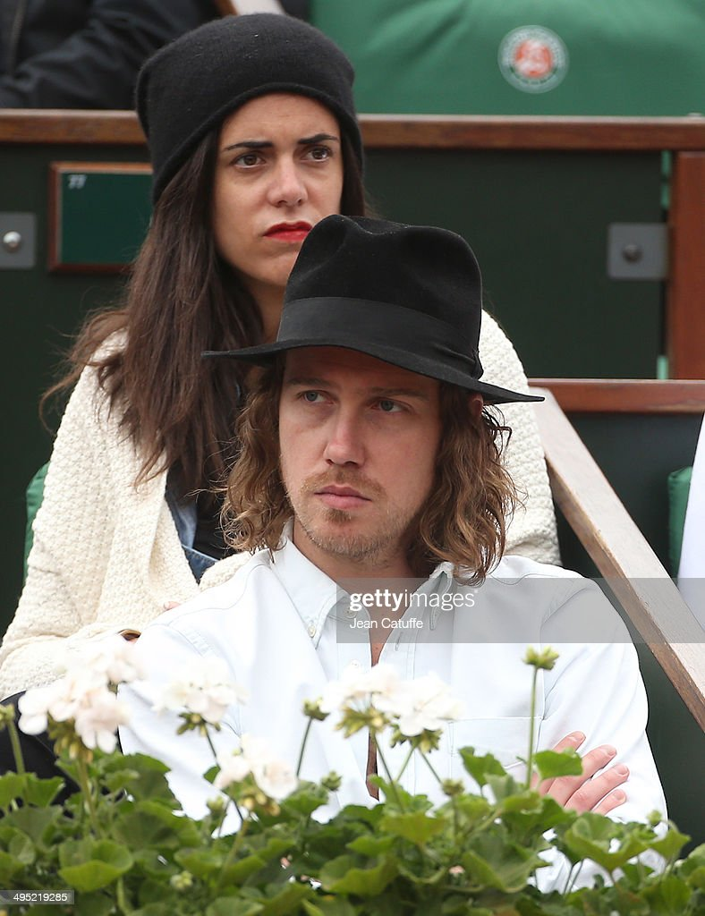 Julien Dore attends Day 8 of the French Open 2014 held at Roland-Garros stadium on June 1, 2014 in Paris, France.