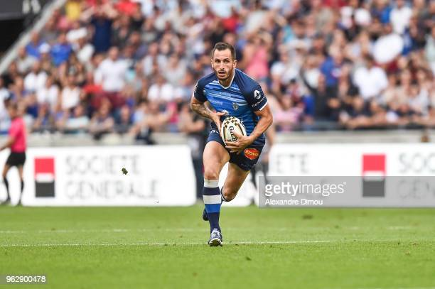 Julien Dumora of Castres during the Top 14 semi final match between Racing 92 and Castres on May 26 2018 in Lyon France