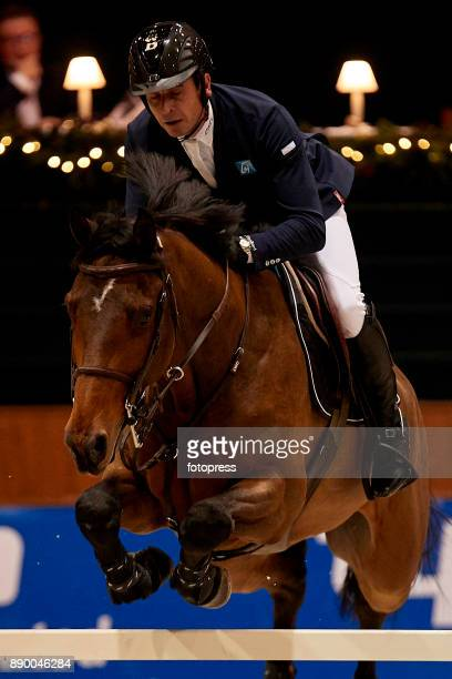 Julien Epaillard attends during CSI Casas Novas Horse Jumping Competition on December 10 2017 in A Coruna Spain