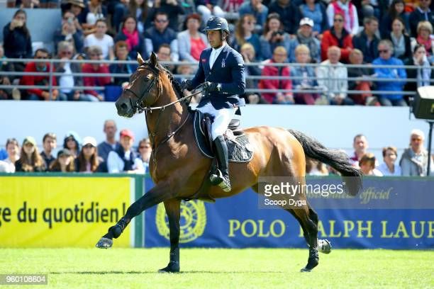 Julien EPAILLARD riding SAFARI D AUGE during the Prix Groupe Barriere on May 19 2018 in La Baule France