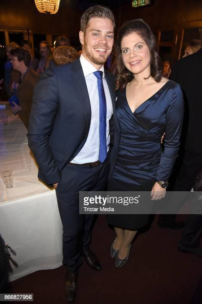 Julien Fuchsberger and Jennifer Fuchsberger attend the 7th Diabetes Charity Gala at TIPI am Kanzleramt on October 26, 2017 in Berlin, Germany.