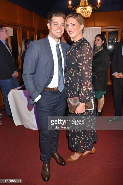 Julien Fuchsberger and Nathalie Fuchsberger attend the Diabetes Charity Gala at Tipi am Kanzleramt on October 24 2019 in Berlin Germany