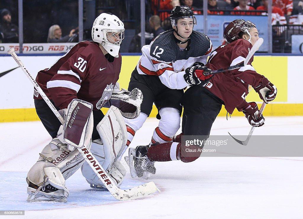 Latvia v Canada - 2017 IIHF World Junior Championship