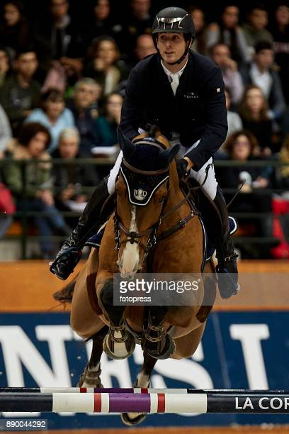 Julien Gonin attends during CSI Casas Novas Horse Jumping Competition on December 10 2017 in A Coruna Spain
