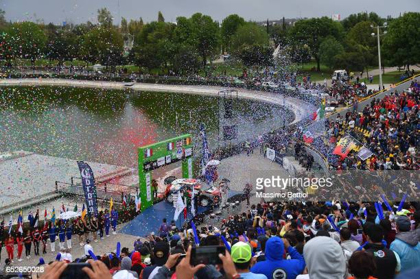 Julien Ingrassia of France and Sebastien Ogier of France Paul Nagle of Ireland and Kris Meeke of Great Britain Thierry Neuville of Belgium and...