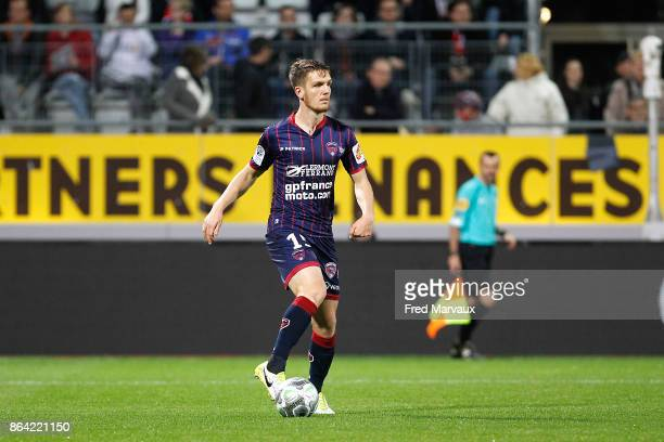 Julien Laporte of Clermont during the Ligue 2 match between Nancy and Clermont at on October 20 2017 in Nancy France