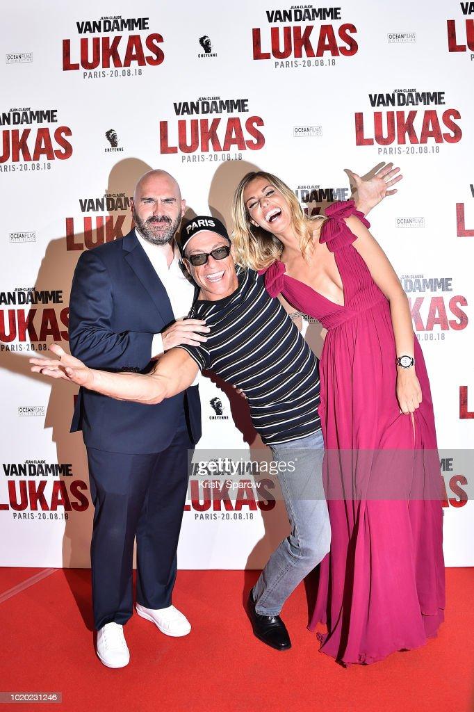 """""""Lukas"""" Paris Premiere At Cinema Gaumont Opera Capucines In Paris"""