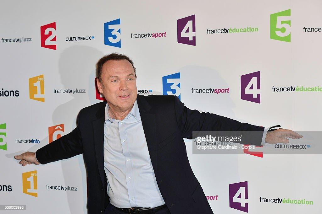 France - 'France Televisions' Photocall At Palais De Tokyo : Nieuwsfoto's
