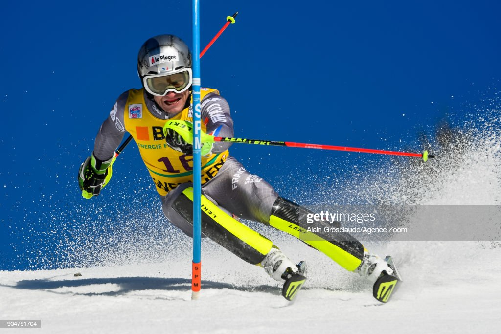 Audi FIS Alpine Ski World Cup - Men's Slalom : News Photo