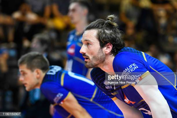 Julien Lyneel of France during the Golden League match between France and Germany on June 14, 2019 in Cannes, France.